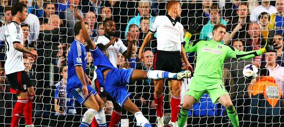 Premier League Chelsea vs Fulham John Obi Mikel