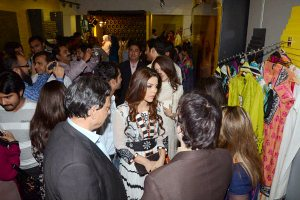 Hadiqa Kiani Fabric World Label Launch