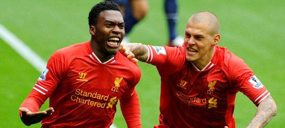 Liverpool vs Manchester  Daniel Sturridge