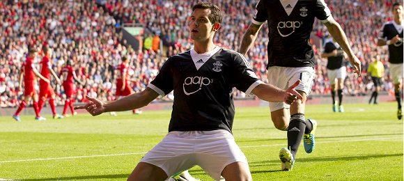 Premier League Liverpool vs Southampton Dejan Lovren
