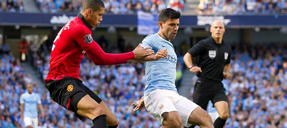 Premier League Manchester City vs Manchester United Sergio Aguero