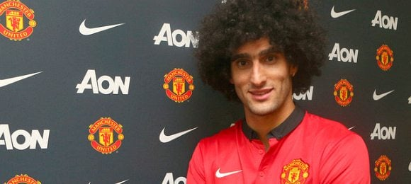 Manchester United Marouane Fellaini Football Transfers