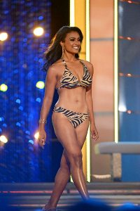 Nina Davuluri in Miss America Competition