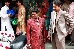 The Lunchbox movie still Nawazuddin Siddiqui and Irrfan Khan