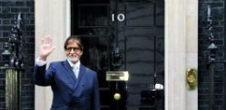 Amitabh Bachchan honoured by David Cameron