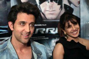Hrithik and Priyanka