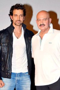 Krrish 3 Film Launch Hrithik Roshan and Rakesh Roshan