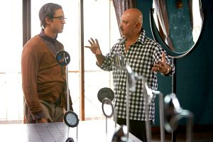 Krrish 3 Movie set Hrithik Roshan with father director Rakesh Roshan