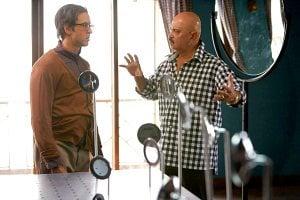 Krrish 3 Movie set Hrithik Roshan with father director Rakesh Roshan