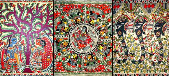 Arts of India Madhubani Painting