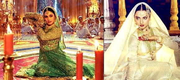 Madhuri and Rekha Dances of India