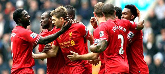 Premier League Newcastle V Liverpool