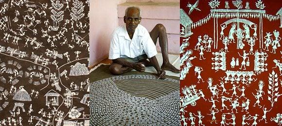Arts of India Warli Painting