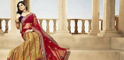 The Half-Lehenga Saree trend in India
