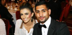 Amir Khan and Faryal in Pregnancy bliss