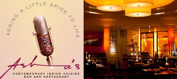 Celrbrity Restaurants Asha's