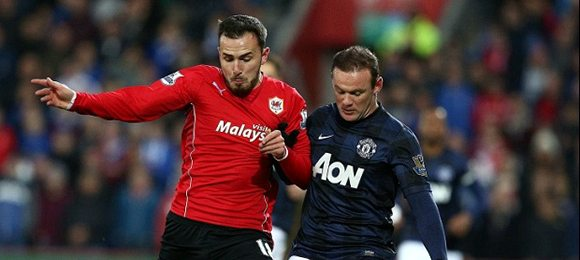 Premier League Football Cardiff V Manchester United