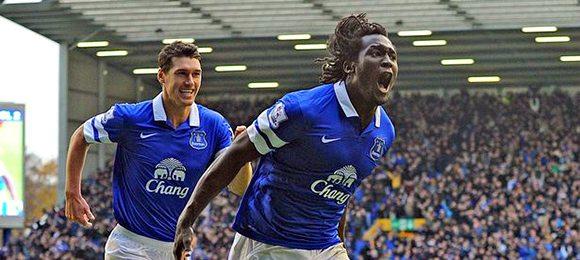 Premier League football Everton V Liverpool