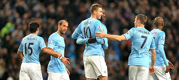 Premier League Football Manchester City V Tottenham