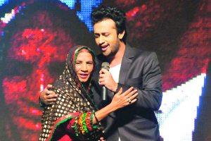 Reshma and Atif Aslam