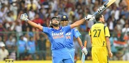 Rohit Sharma win