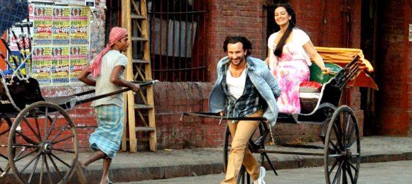 Saif and Sonakshi in Bullett Raja