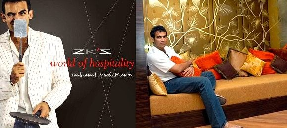 Celebrity Restaurants Zaheer Khan