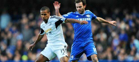 Chelsea 1 Swansea City 0
