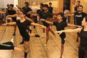 Indian Ballet Class