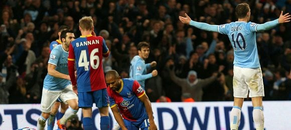 Manchester City 1 Crystal Palace 0