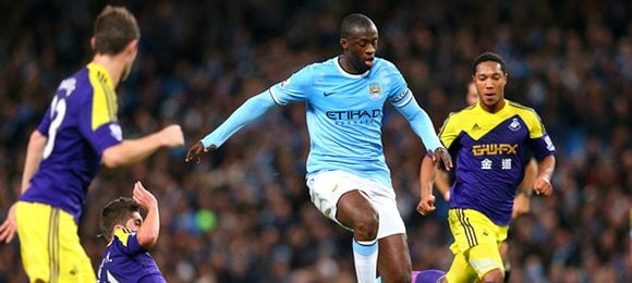 Premier League Manchester City V Swansea