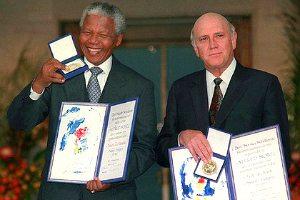 Mandela and Klerk