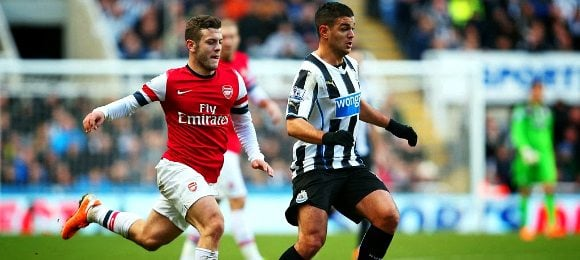 Newcastle United 0 Arsenal 1