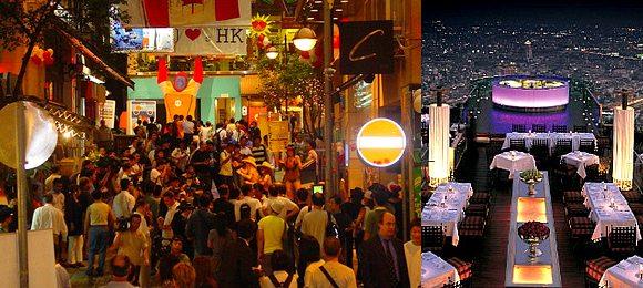 Nightlife Hong Kong