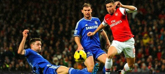 Premier League Arsenal 0 Chelsea 0