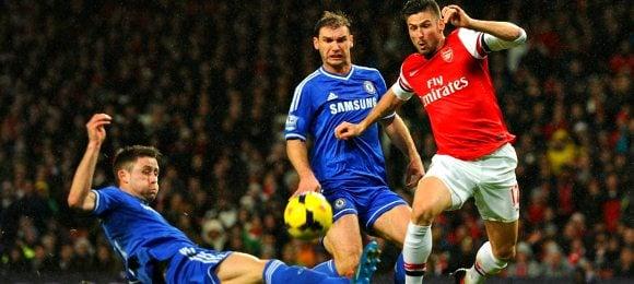 Premier League Arsenal 0 Chelsea 0