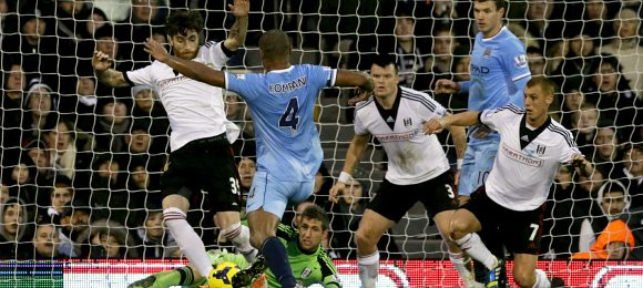 Premier League Fulham 2 Manchester City 4