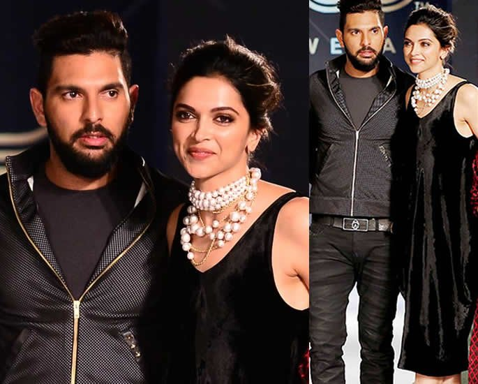 The Romances of Deepika Padukone - Yuvraj Singh