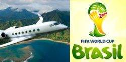 Travelling to Brazil for the World Cup 2014