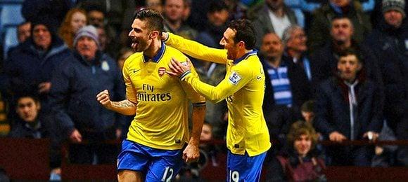 Premier League Football Aston Villa V Arsenal