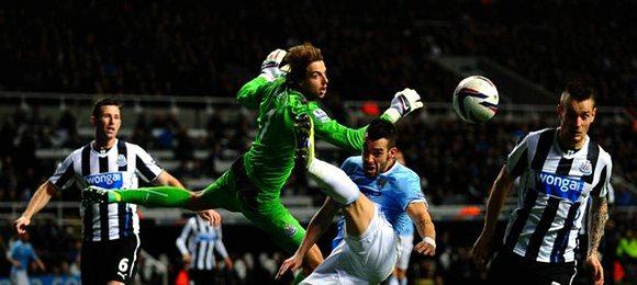 Premier League Football Newcastle V Manchester City