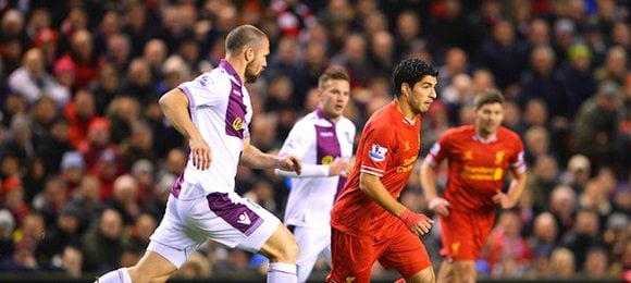 Premier League Liverpool V Aston Villa