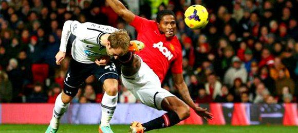 Premier League Manchester United 1 Tottenham Hotspur 2