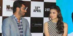 Alia and Arjun celebrate 2 States engagement