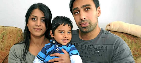 British Asian Family