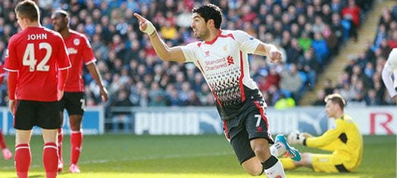 Cardiff City 3 Liverpool 6 – 3pm KO, Saturday