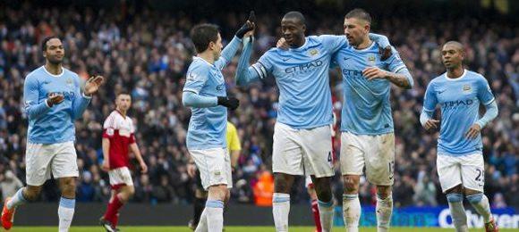 Manchester City 5 Fulham 0 – 3pm KO, Saturday