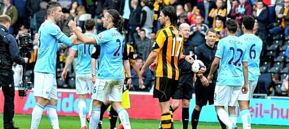 Hull City 0 Manchester City 2