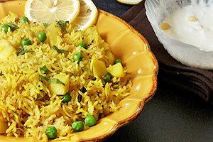 Peas, Rice & Potatoes