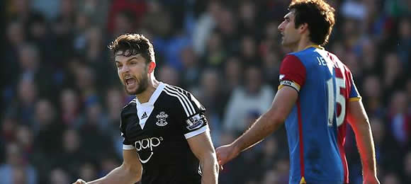 Premier League Crystal Palace 0 Southampton 1